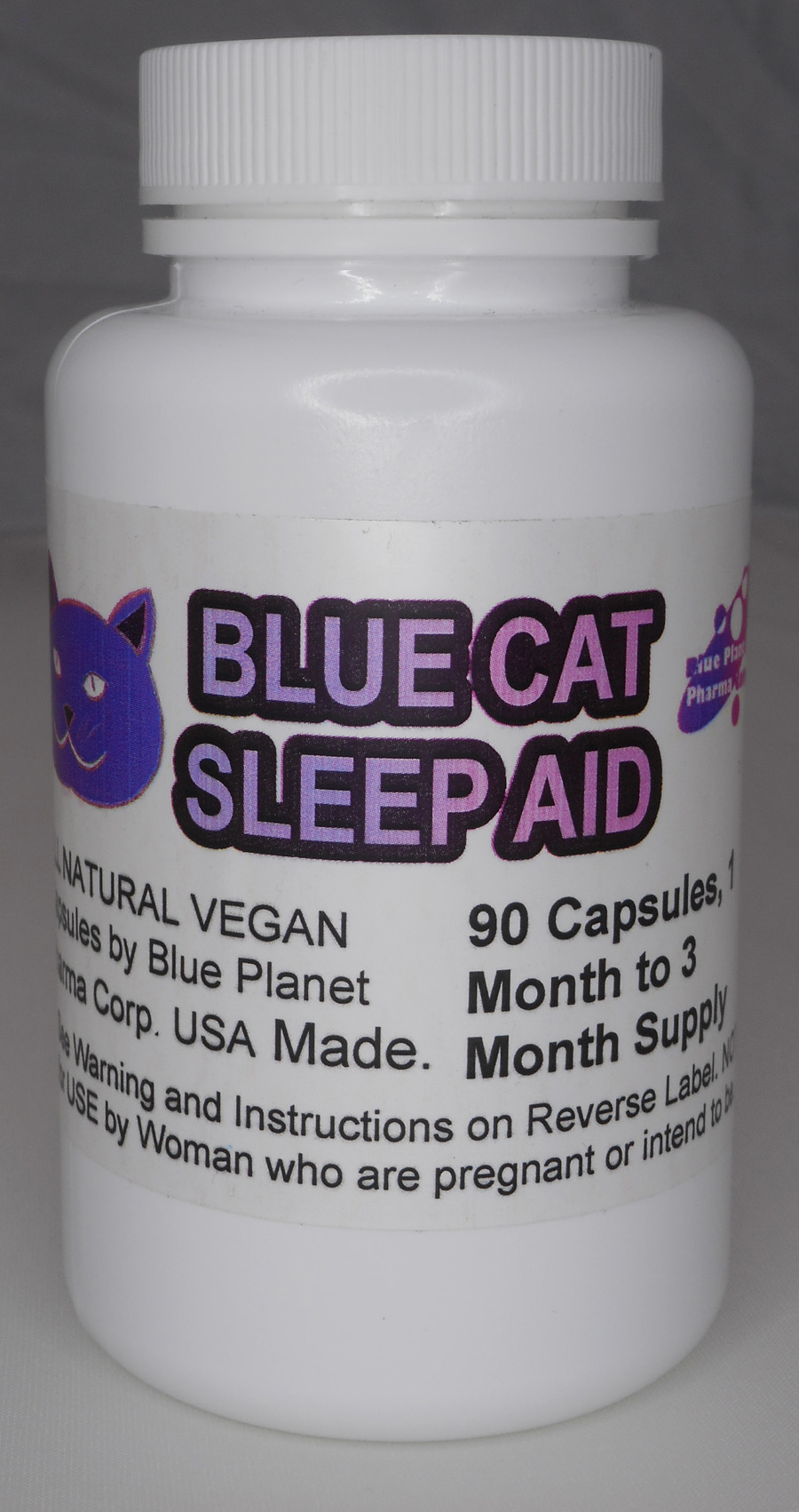 Blue-Cat 90 Count Bottle